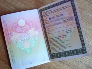 EU passport Brett Jordan